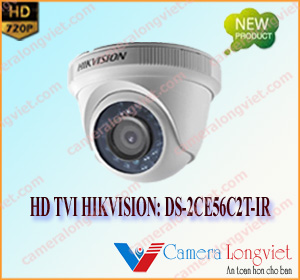 Camera  HD-TVI  bán cầu HIKVISION DS-2CE56C2T-IR