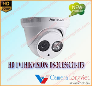 Camera HD-TVI Dome HIKVISION DS-2CE56C2T-IT3