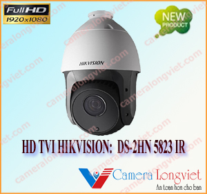 Camera 2.0MP HD-TVI Speed dome hồng ngoại HIKVISIONHD DS-2HN 5823 IR
