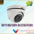 Camera HD-TVI bán cầu HIKVISION DS-2CE56C0T-IRM